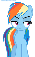 bad Rainbow Dash Vector not a vector vector by thetriforcebearer