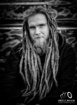 Luke's Epic Dreads by MikeFShaw