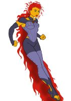 Starfire by Heroid
