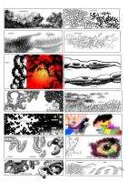 Manga Studio v4 Free Brushes by 888toto
