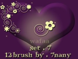 12 brush set 7 by 7nany