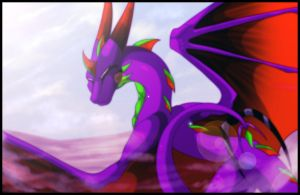 In the desert by Deathtail-The-DraCon