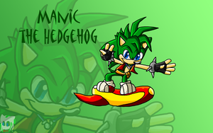 Manic ta Hedgie by DraconicSonic