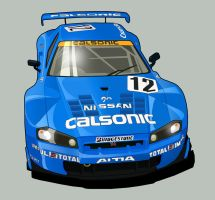 Calsonic Skyline GTR-vector by MobileSuitGio