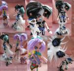 Mana Lai and Noon Walker Equestria Girls dolls by LightningSilver-Mana