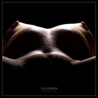 Nude on Black 4 by agijo