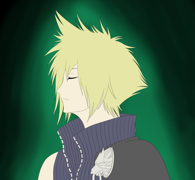 Cloud Strife - FF VII AC by Chamailo