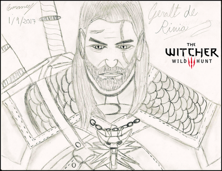 Geralt de Rivia (The Witcher 3) by BicycleIzation