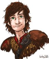 Hiccup - Race to the Edge by LenleG