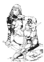 Mercenary by Ed Benes by JPMayer