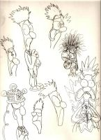 Beaker Sketches by LimeTH