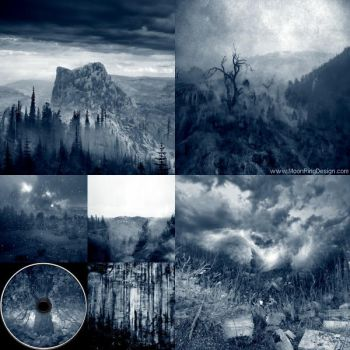 Foresthill-atmospheric-black-metal-epic-cd-cover-f by MOONRINGDESIGN