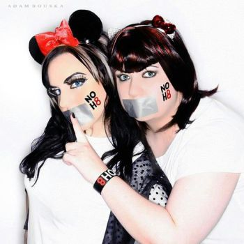 NOH8 Cat and Mouse by SinnaDeVeigh