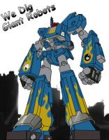 Megas XLR- We Dig Giant Robots by Scary-Dave