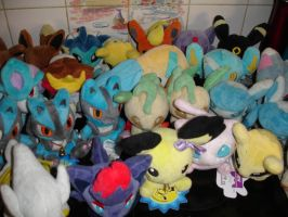 Pokedoll collection - close up by LV9