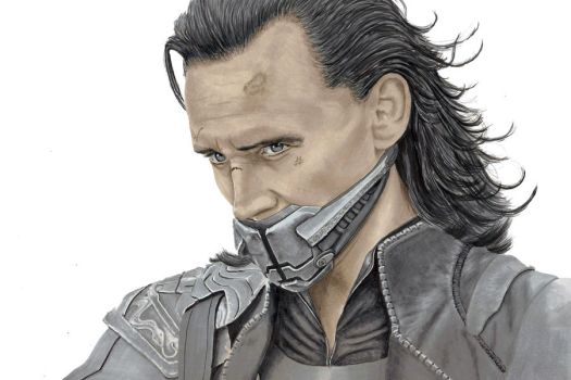 Loki from the Avengers w/ Video by Sofera