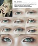 Cosplay Eyes Makeup for male character by mollyeberwein