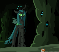[MLP] Queen Chrysalis by Mechanized515