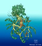 Leafy Seadragon Mermaid by Manasurge