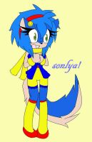 request: sonlya the weasel by zeno-coco