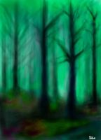 Green Forest by Pe2te2r