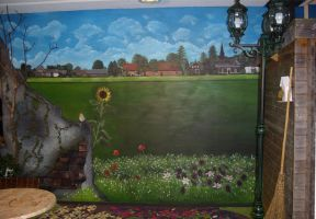 Panoramic Mural Painting Part 3 by Rpriet1