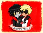 Another DaveKat thing. by Rjanarielle