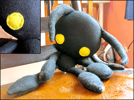 Heartless Plush by ZAHMB