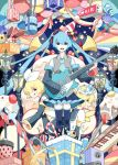 Vocaloids Party Night by chamooi