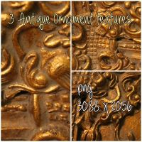 3 Antique Ornament Textures by Picandou