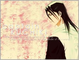 Captain Kuchiki Wallpaper by elexis6
