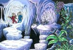 Spirou and Fantasio - Ice Cavern exploration by Raax-theIceWarrior