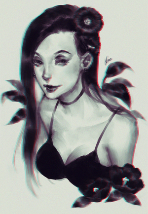 Black Petal by naomicoco