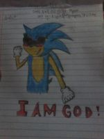 I AM GOD ! by AisyahShiepumpers28
