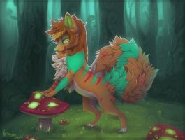 Too Much Mushrooms by Stasya-Sher