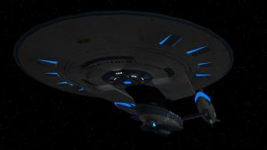 Alternate Reality USS Enterprise NCC-1701-B by Marksman104