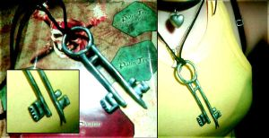 Davy Jones' Key, Handmade. by Didsy
