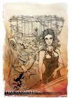 .Down with the Capitol (lineART) by DeidaraIruka