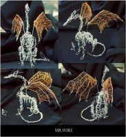 Wire Dragon by WolfsECHO