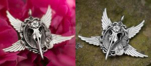 Magic steampunk amulet! - Auction !SOLD! by Zluvka