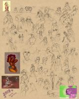 2008 Sketch Dump by travelingpantscg