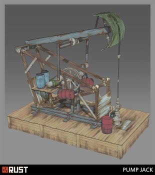 Rust - Pump Jack by Howi3