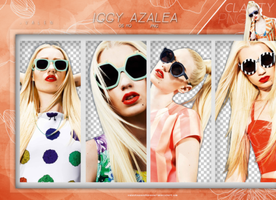 Pack png 992: Iggy Azalea. by Clarity-pngs