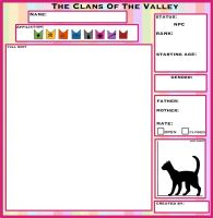 ::: TcotV ::: Blank NPC Application sheet by TheClansOf-TheValley