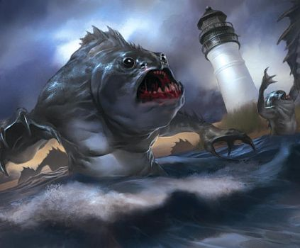 CoC LCG: Day of the Deep Ones by Cryptcrawler