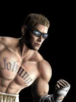 MK9 - Johnny Cage Render by Peenis-Mitten