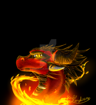 Fire Dragon by Dreganus