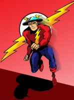 The Flash: Jay Garrick by Koku-chan