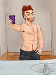 Inappropriate Time for a Selfie [p.1] by Somewaywardson