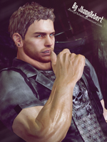 Chris Redfield by JhonyHebert